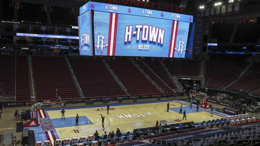 Friday's Mavs-Rockets game postponed due to weather