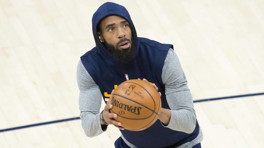 Mike Conley out again Game 2 with hamstring strain