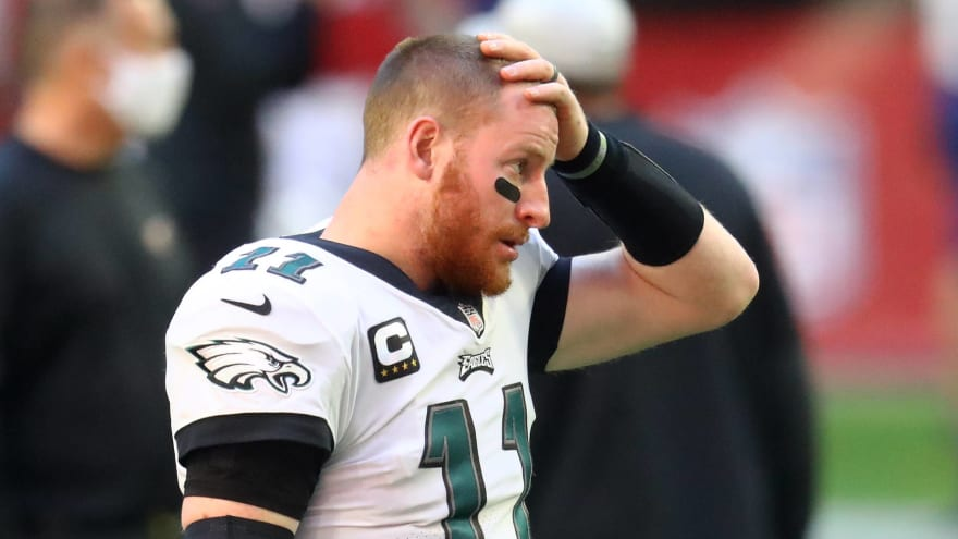 Report: Eagles felt Wentz couldn't handle hard coaching