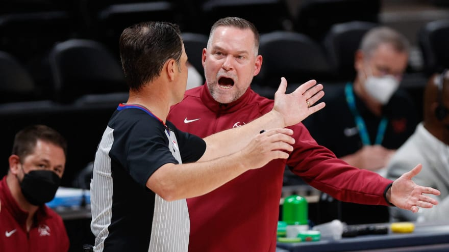 Nuggets HC Michael Malone disagrees with Nikola Jokic ejection