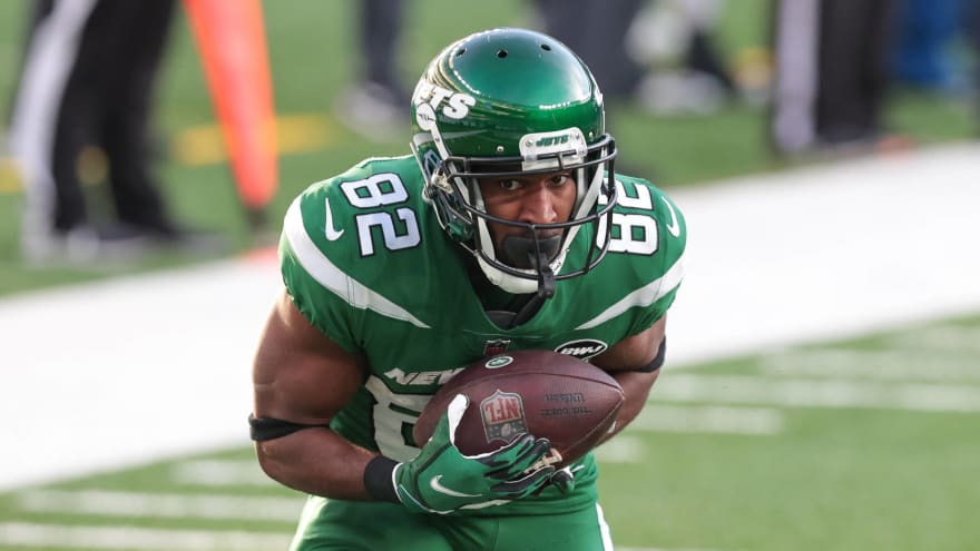 Jets WR Jamison Crowder a game-time decision vs. Broncos