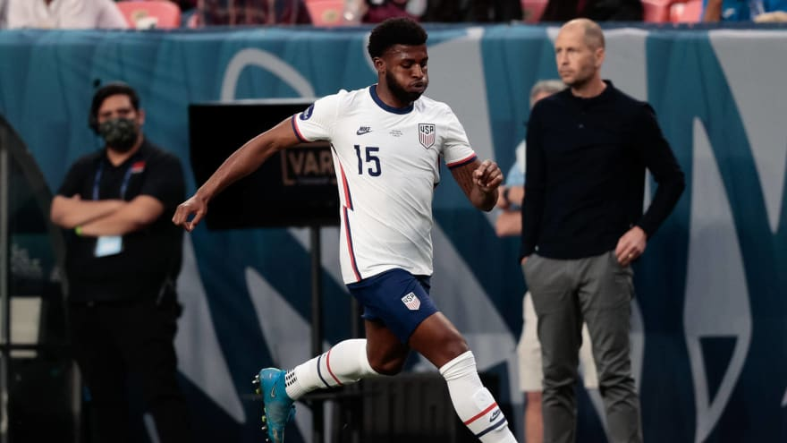 USMNT's Mark McKenzie targeted with racist abuse online