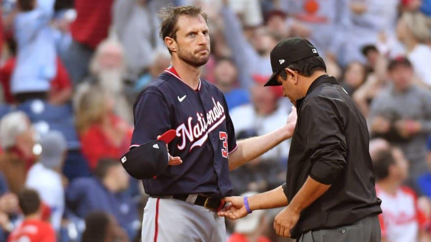 Nationals ace Max Scherzer blasts MLB over substance checks