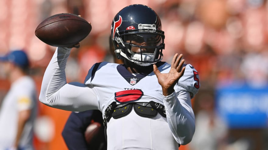 Texans QB Tyrod Taylor ruled out with hamstring injury