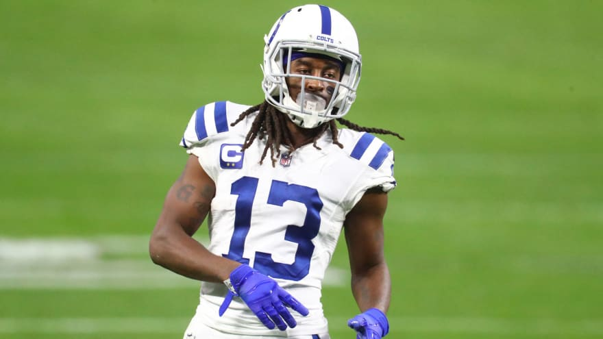 T.Y. Hilton 'gave up a lot of money' to re-sign with Colts