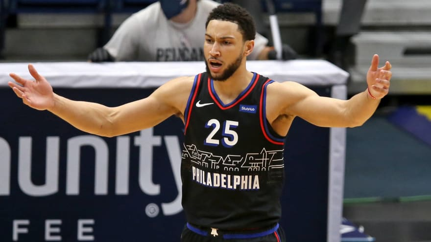 Ben Simmons thrown out of practice, suspended for opener