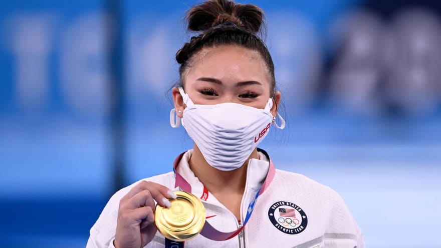 Sunisa Lee wins gold in all-around event for Team USA