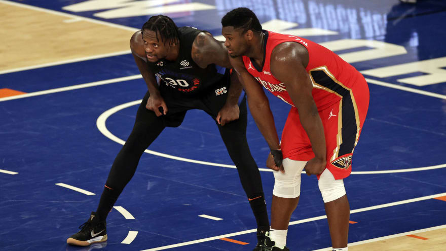 Charles Oakley: Randle 'a better version' of Williamson