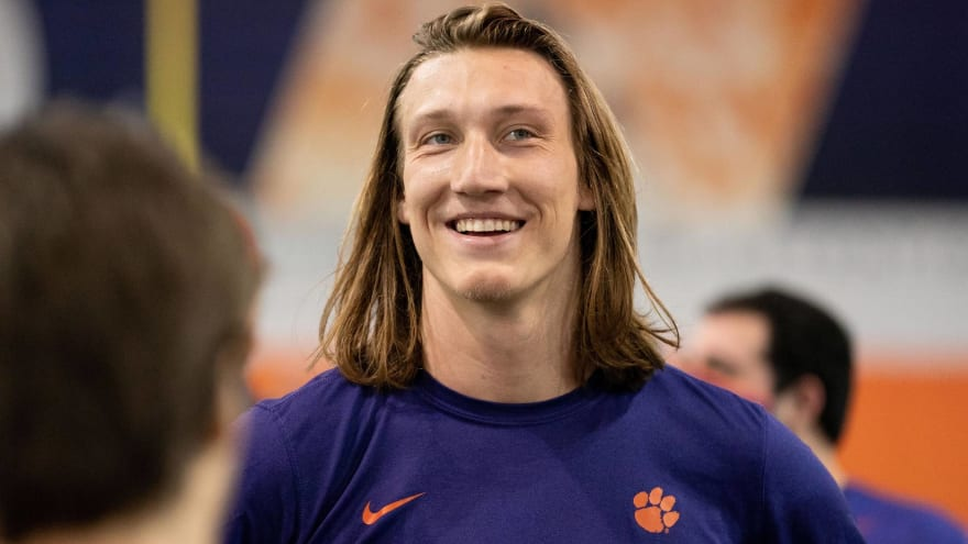 Jags fans buying wedding gifts for Trevor Lawrence