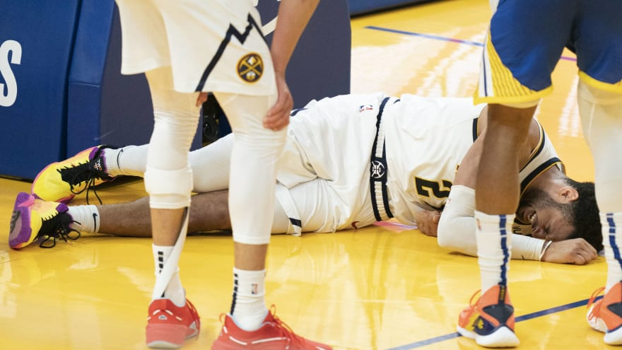 Nuggets put title chase on hold after Murray's injury