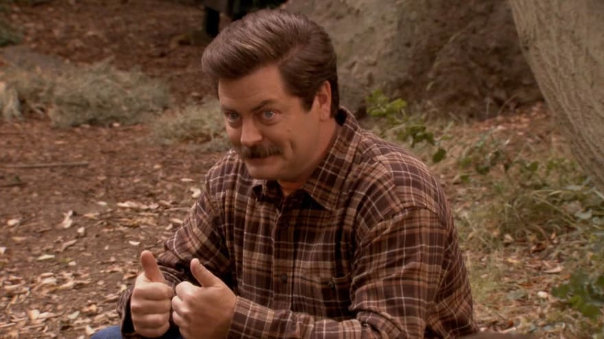 Ron Swanson's most memorable moments from 'Parks and Rec'