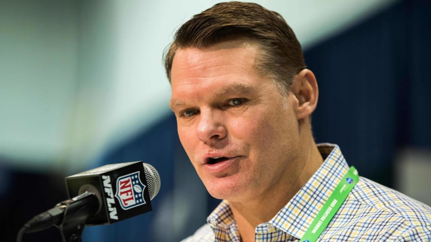 Colts GM Chris Ballard tries to justify not drafting LT