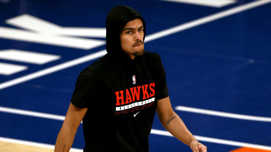 Knicks ban fan indefinitely for Trae Young spitting incident