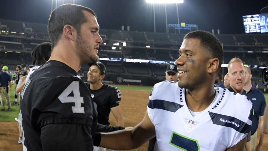 Derek Carr's brother pushes Raiders to trade for Russell Wilson