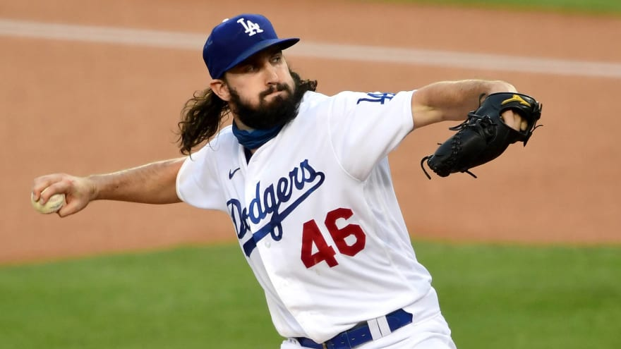 Dodgers' Gonsolin to get start in Game 2 of World Series
