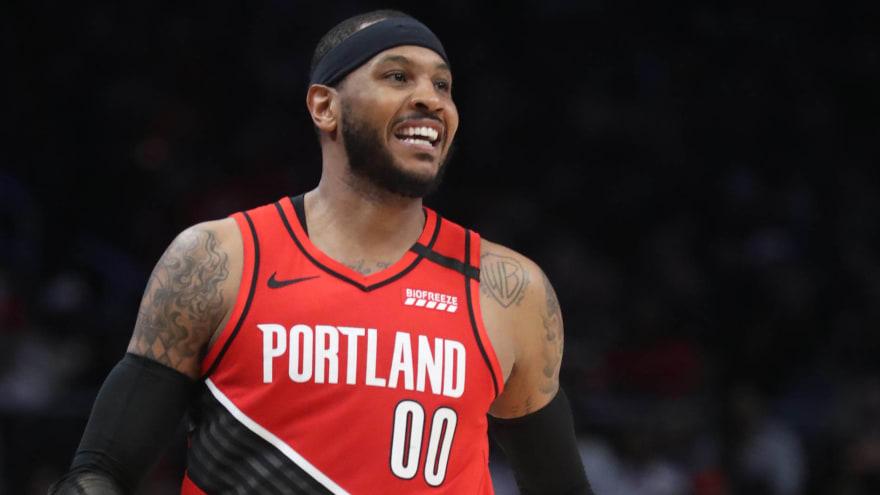 Carmelo praises Adam Silver over handling of NBA's hiatus