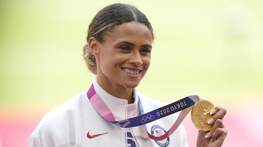 Sydney McLaughlin breaks own world record at Olympics