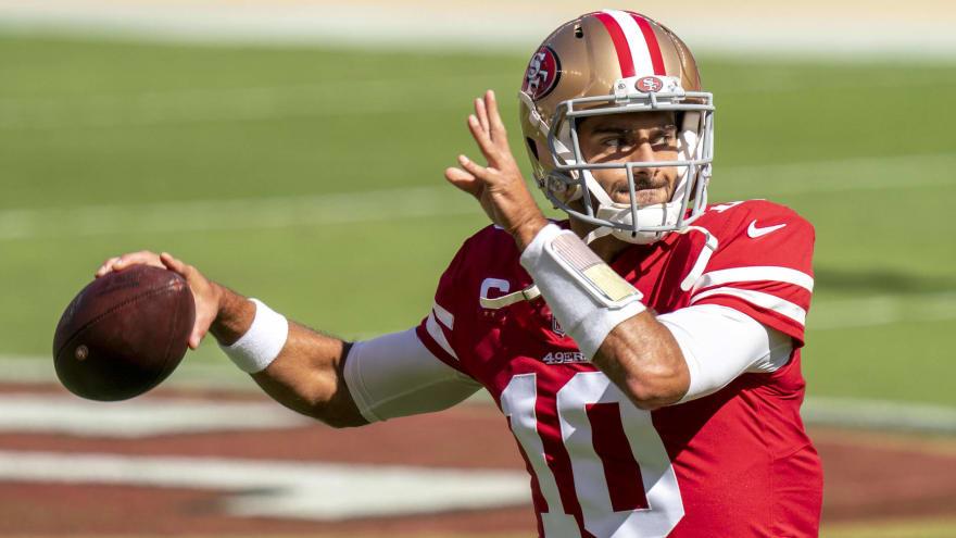 GM John Lynch: Jimmy Garoppolo will be 49ers' starter in '21