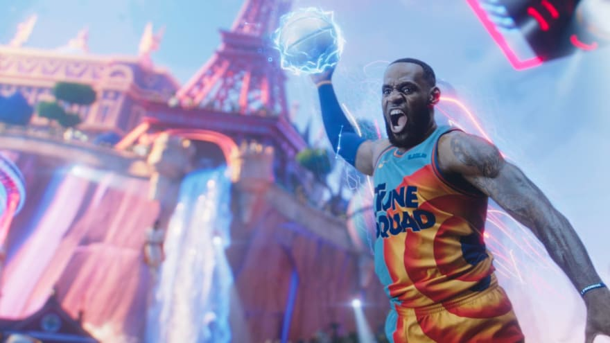 LeBron James confronts high stakes in the new trailer for 'Space Jam: A New Legacy'