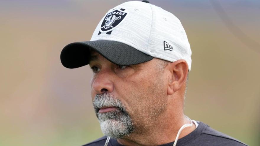 Raiders name Rich Bisaccia interim HC after Gruden resignation