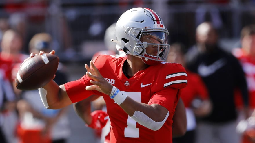 Ohio State QB C.J. Stroud on track to play vs. Akron