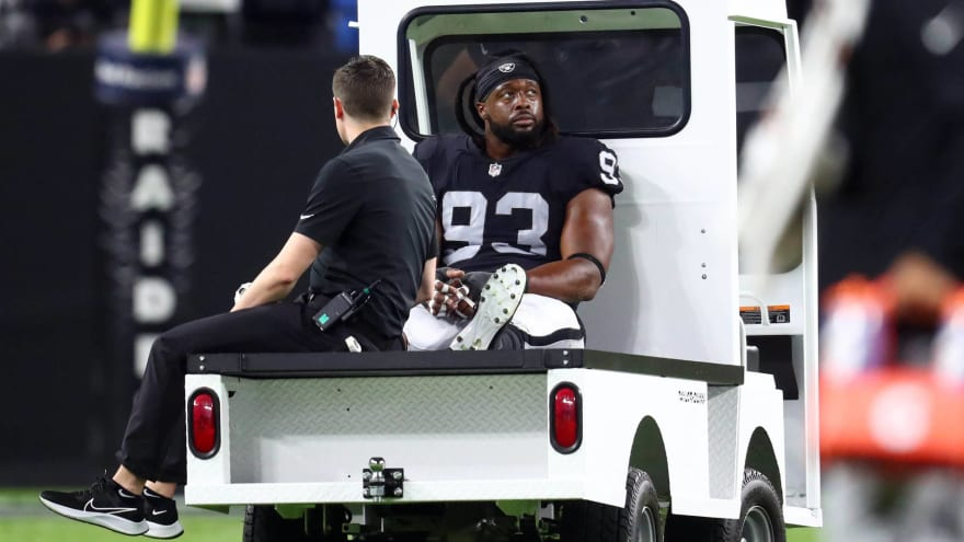 Raiders DT Gerald McCoy suffers another season-ending injury