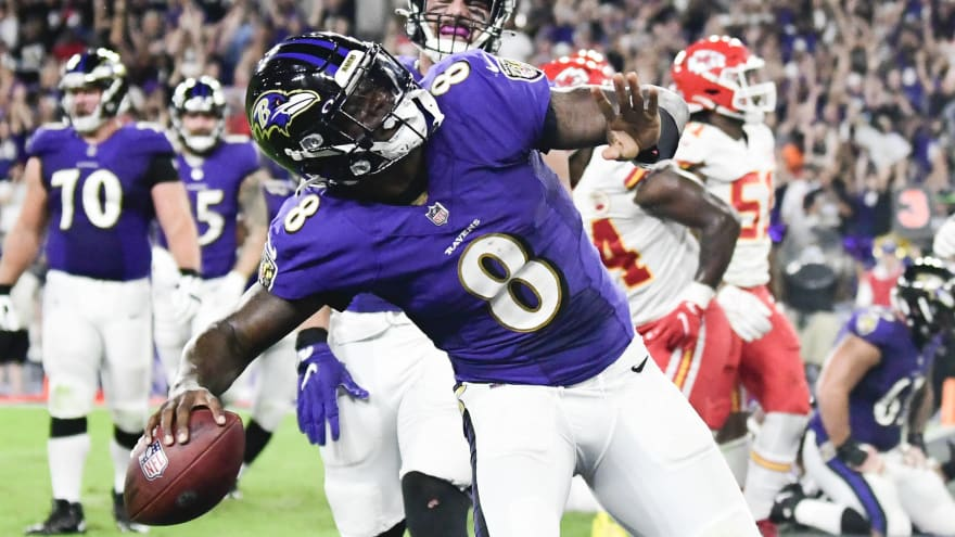 Ravens QB Lamar Jackson relieved over win over Chiefs