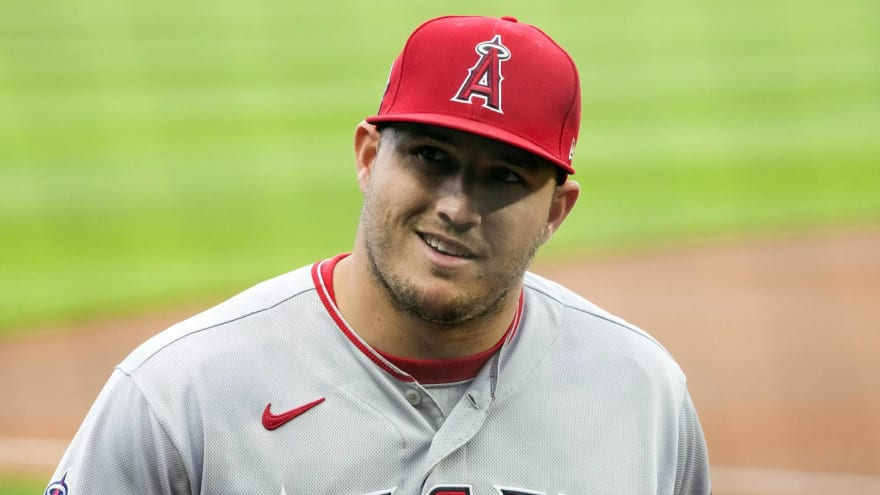Angels' Trout completes drills; timetable for return still unknown