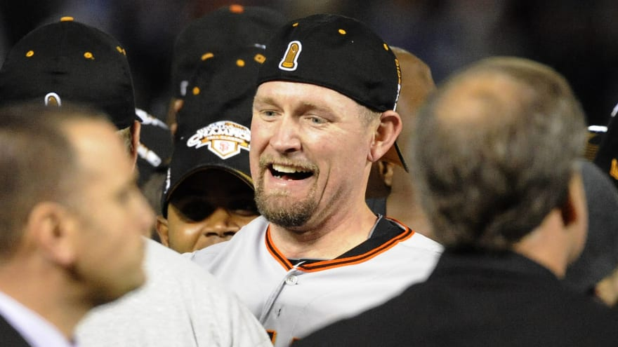 Report: Giants ban Aubrey Huff from World Series reunion celebration