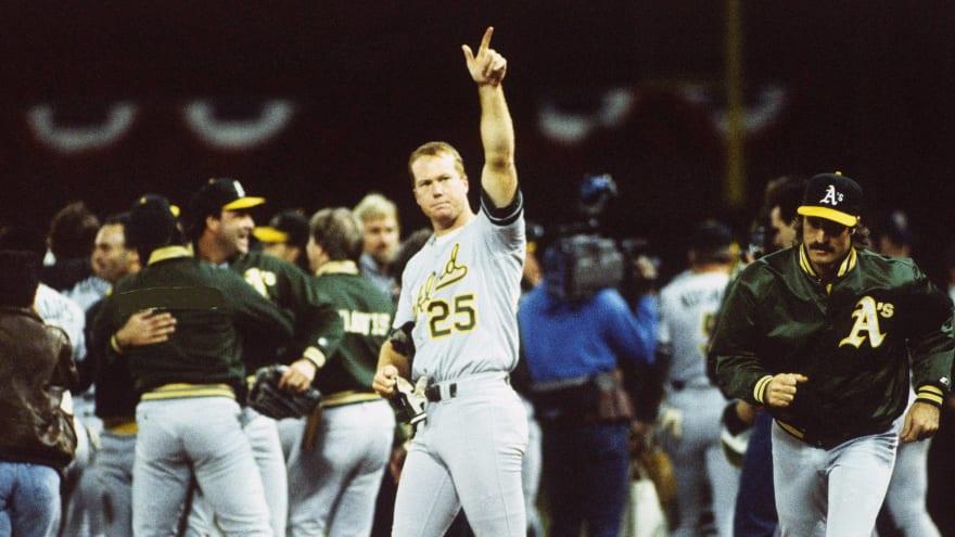 The '1989 Oakland Athletics' quiz