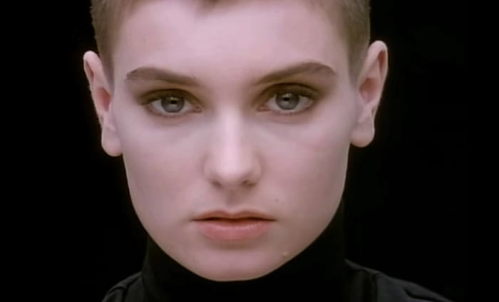 "Sinéad O'Connor ""Nothing Compares 2 U"" (1990)"