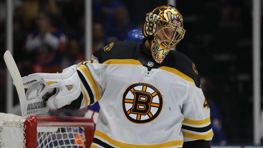 Bruins' Rask shares encouraging update following surgery
