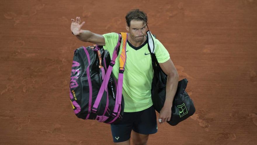 Rafael Nadal won't play in Wimbledon or Tokyo Olympics