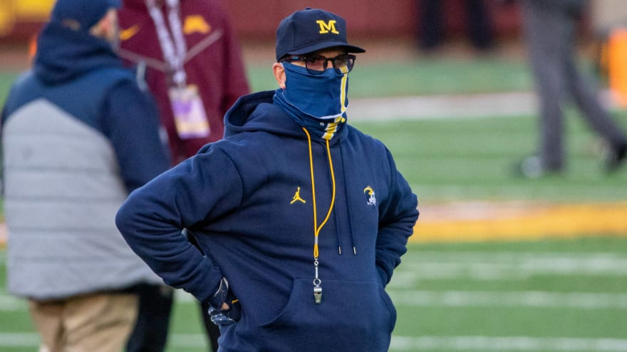 Jim Harbaugh reportedly 'open' to returning to coach in NFL