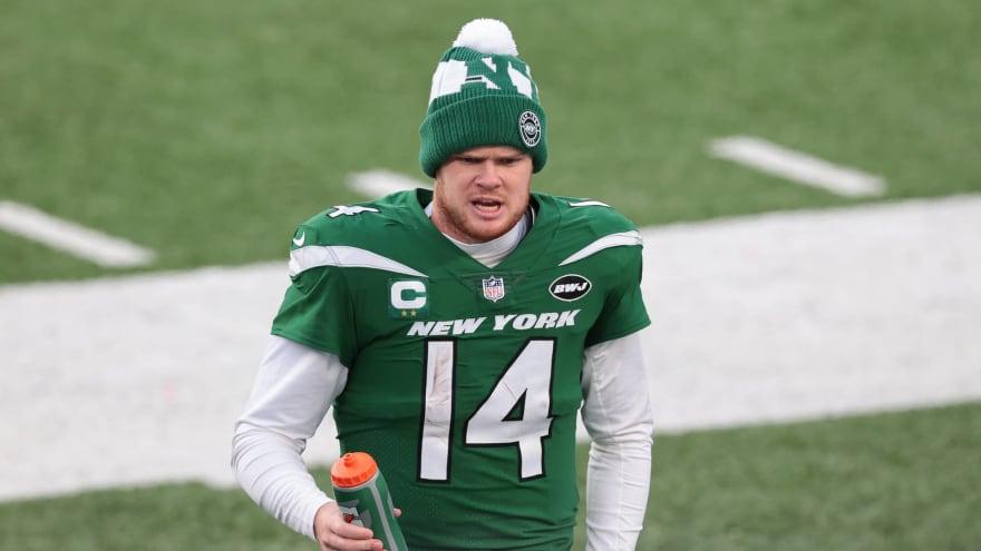Jets GM addresses Sam Darnold trade rumors