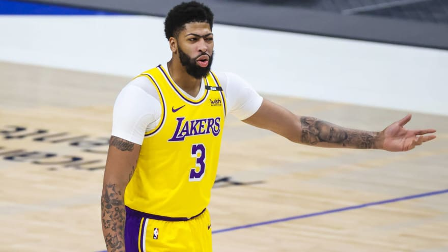 Anthony Davis has blunt message for struggling Lakers