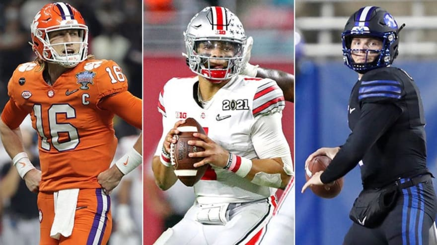 2021 NFL mock draft: The first three rounds