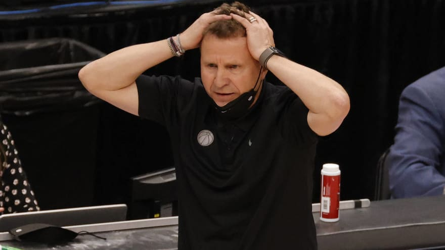 Wizards haven't decided on future of Scott Brooks