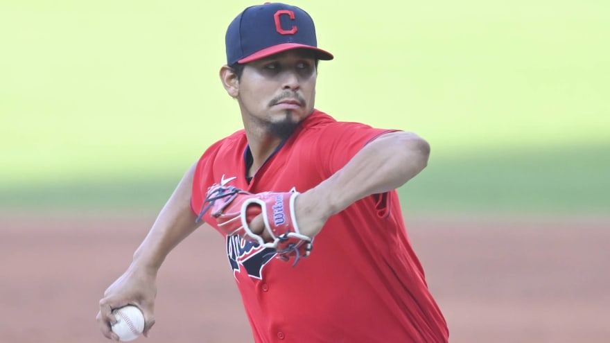 Carlos Carrasco on track for mid-May debut