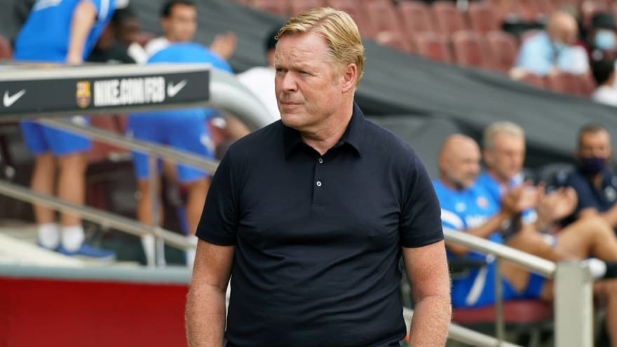Barcelona reportedly looking to replace Ronald Koeman