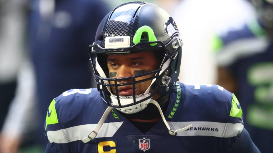 Russell Wilson working out in San Diego away from Seahawks