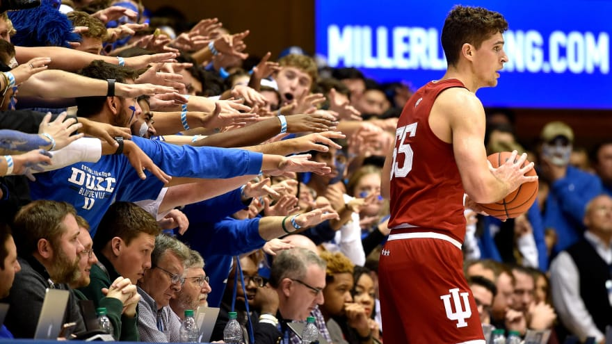 The 25 best arenas in college basketball