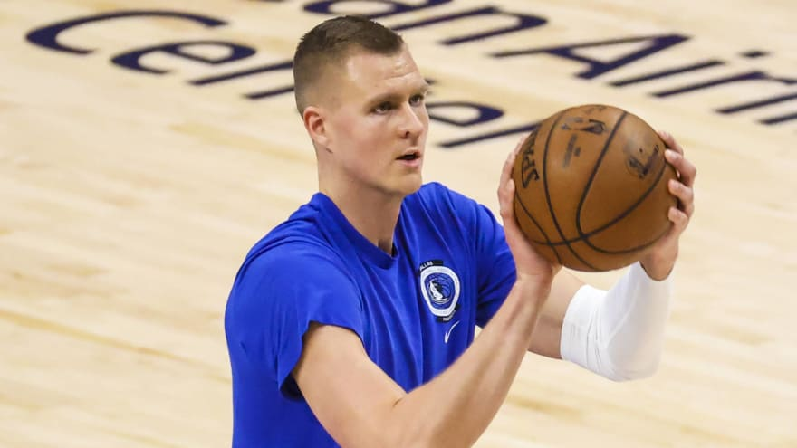 Kristaps Porzingis appears to respond to critics with social media post