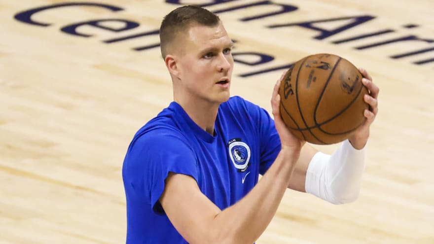 Celtics have best odds to land Mavs' Porzingis if traded