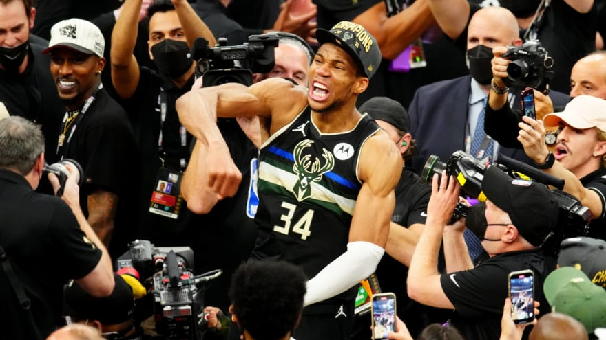 Giannis shares why he missed team championship photo
