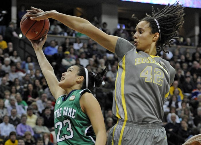 Griner hosts a block party (2010)