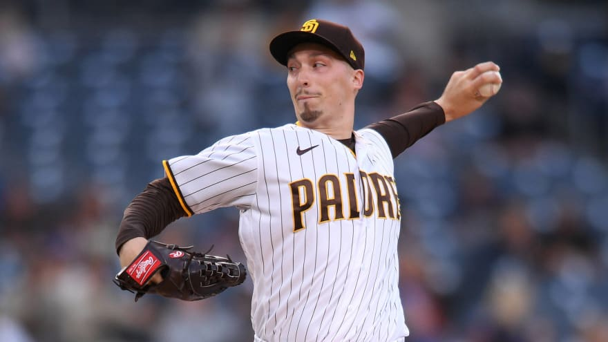 Padres' Blake Snell had hilarious quote about his changeup issues