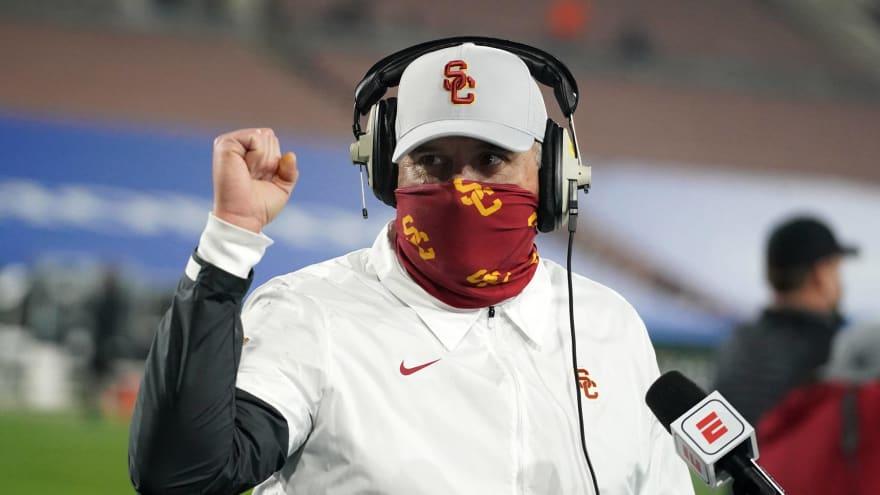 USC fires offensive line coach Tim Drevno, strength coach Aaron Ausmus
