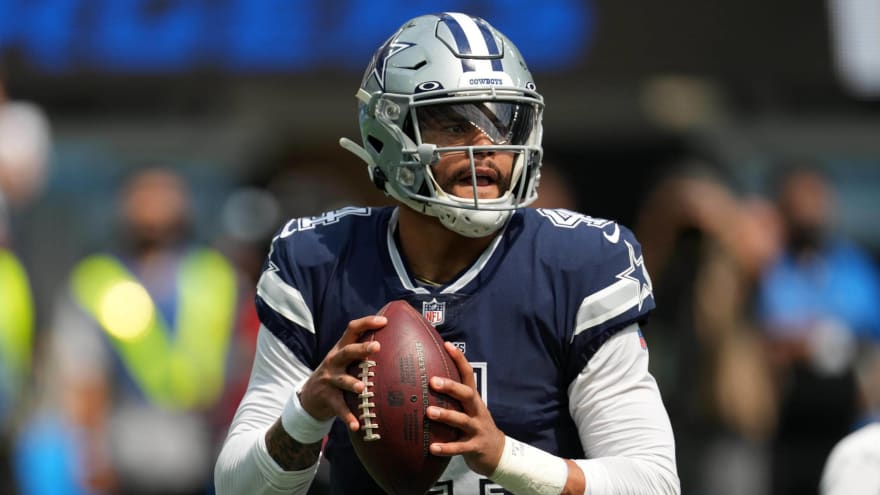 Cowboys' Dak Prescott: Return to AT&T Stadium will be 'special'