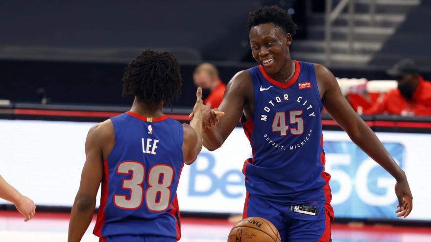 Pistons giving Sekou Doumbouya more minutes